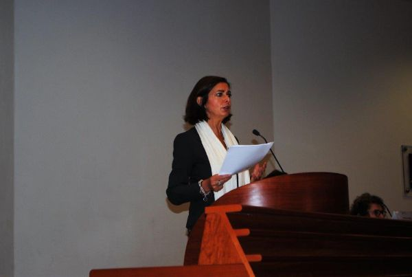Il Presidente della Camera, il discorso della Laura Boldrini all'Unical - Boldrini: Complimenti a Alessia Tuselli, la giovane di Vibo Valentia e dottoranda alla Federico II di Napoli, alla quale è stata assegnata la borsa di studio  - http://www.ilcirotano.it/2016/10/11/il-presidente-della-camera-il-discorso-della-laura-boldrini-allunical/