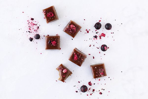 Hjemmelavede chokoladekarameller