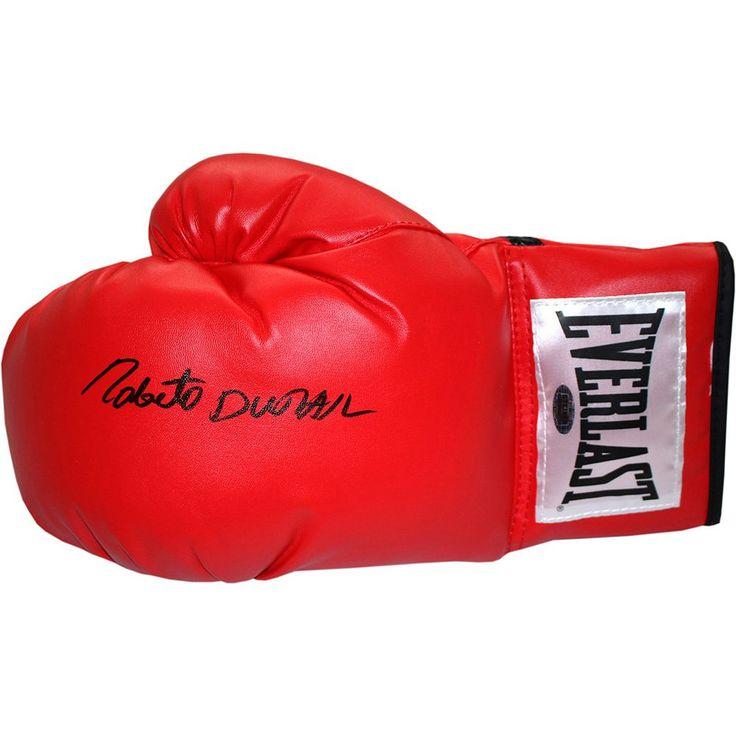 Steiner Sports Roberto Duran Autographed Everlast Boxing Glove, Multicolor