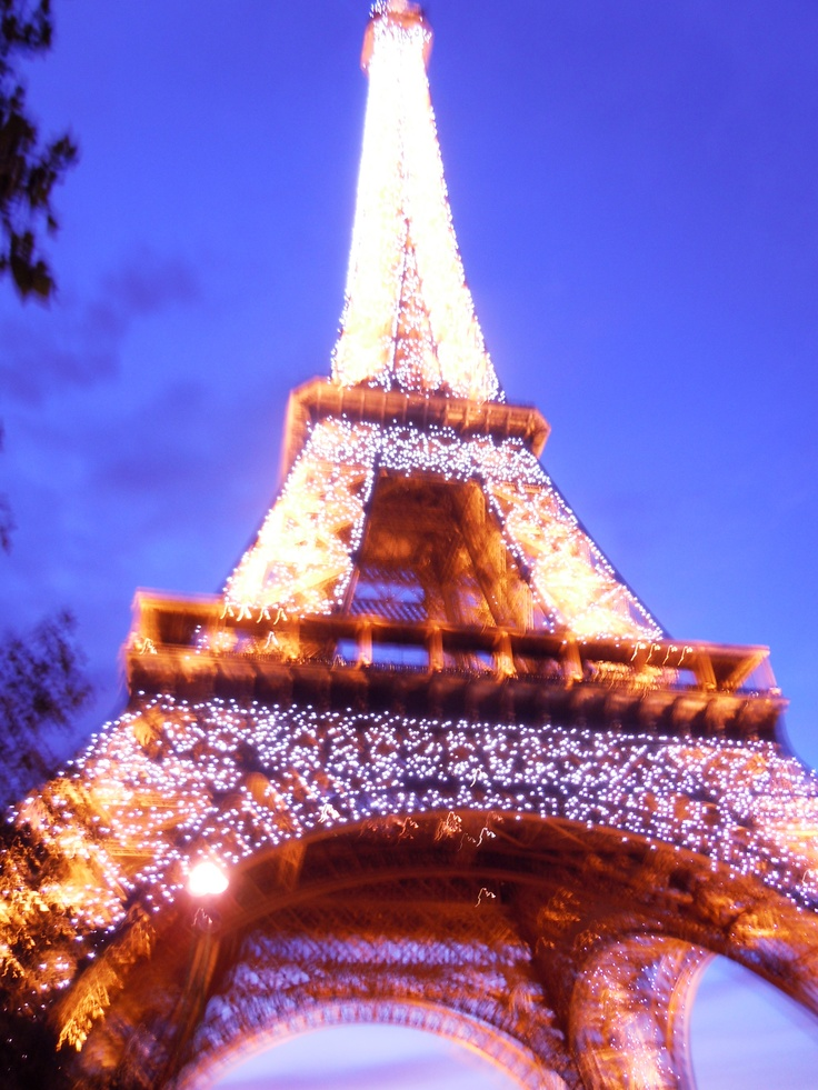 Eiffel Tower, light show one day i will make there