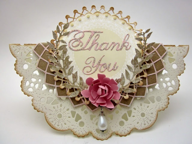 Card of a Different Shape - Created by Lori Williams of Pinkcloud Scrappers