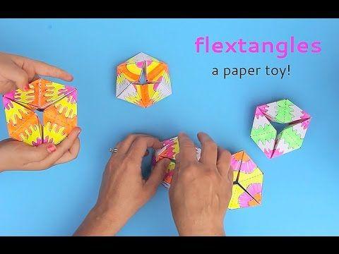 Paper Toys: Flextangles - Babble Dabble Do