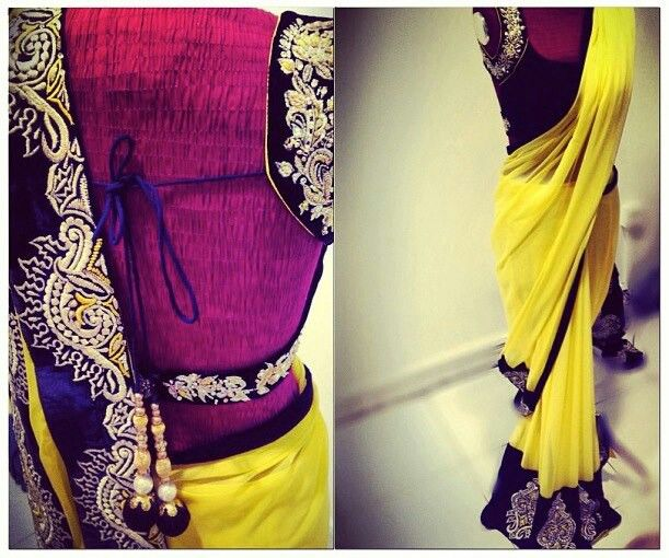 Yellow and black- a classic combination of contemporary fashion