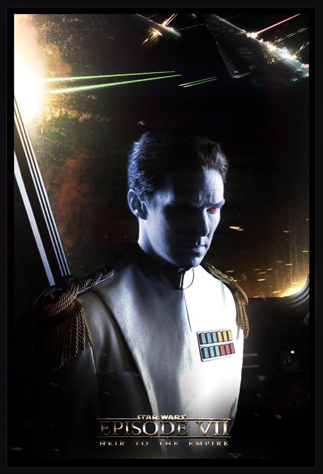 Benedict Cumberbatch as Grand Admiral Thrawn