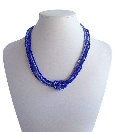 Love Knot Indigo Blue | Indigo Heart - Fair Trade Fashion A$19.50
