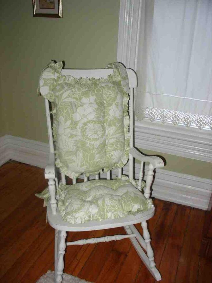 1000 ideas about rocking chair nursery on pinterest nursery furniture nursing chair and - Rocking chair cushion diy ...