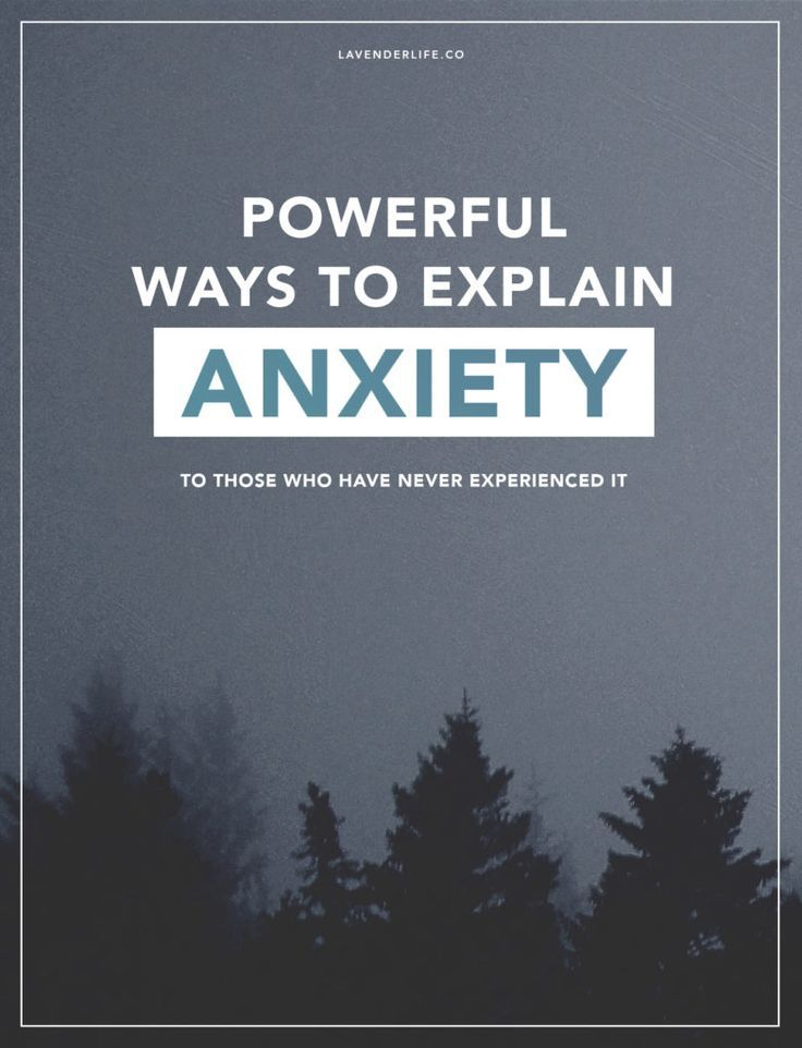 Natural Ways To Calm Anxiety Disorder