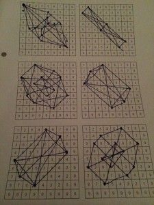 Teaching art and math together using the Vedic Square