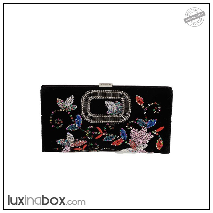 Roger Vivier Beaded Clutch JJ60Etw