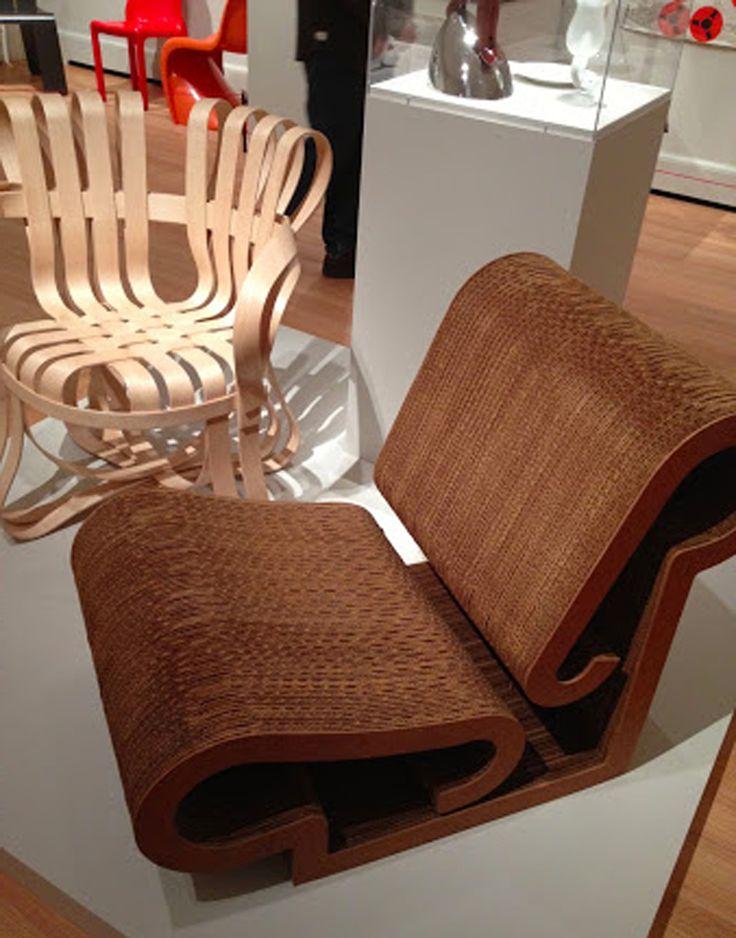 Best Furniture Cardboard Design Ideas ~ http://www.lookmyhomes.com/wonderful-frank-gehry-furniture-cardboard/