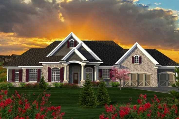 10 Very Inspiring Enchanting Ranch Home Plans Ideas In 2020 Ranch Style House Plans Ranch Style Homes Country Style House Plans