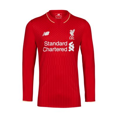 LFC 15/16 Mens Long Sleeve Home Shirt, £54.99