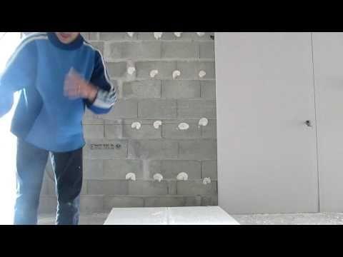 pose dune plaque dans le garage youtube - Colorant Beton Brico Depot