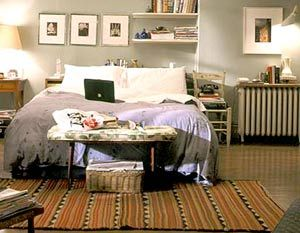 Radiator Toppers: Sex, Bradshaw Apartment, Carriebradshaw, Interiors Design, Carrie Bradshaw, Carrie Apartment, The Cities, Carrie Bedrooms, Bedrooms Ideas