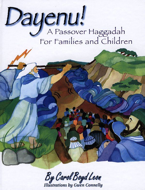 Pin for Later: Make Your Seder More Kid-Friendly With These Family Haggadahs Dayenu!: A Passover Haggadah For Families and Children