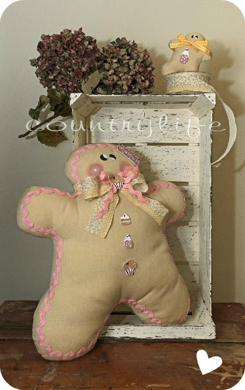 SWEET GINGER PILLOW by veronicacountrylife on Etsy, $54.00