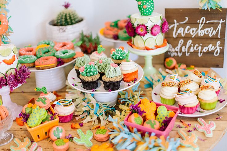 This Desert Themed Birthday Party is the epitome of all things fiesta done in a modern and playful way by The Shift Creative.