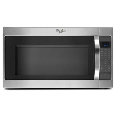 Whirlpool YWMH53520CS 2.0 cu. ft. Microwave Hood Combination with CleanRelease Non-Stick Interior