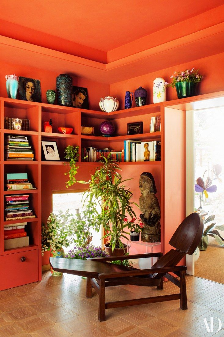 Step inside the colorful home of margherita missoni in the living