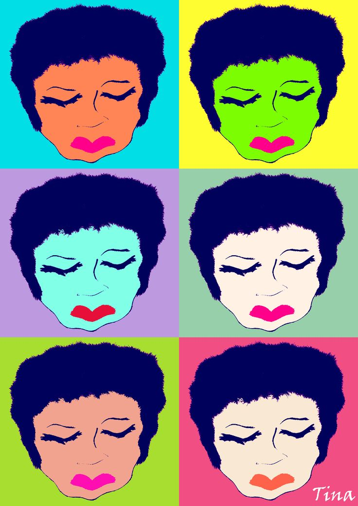 Pop Art Drawing Made with Picozu