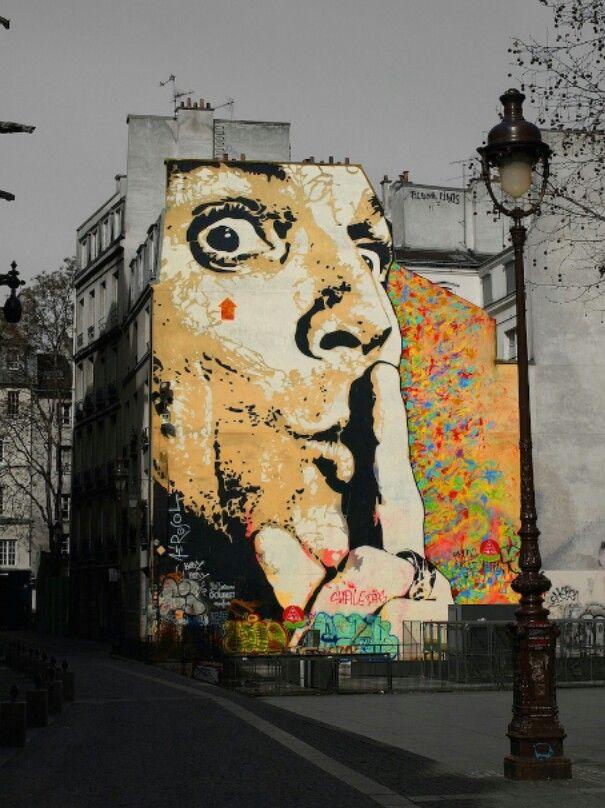 Amazing Street Art in Paris, France