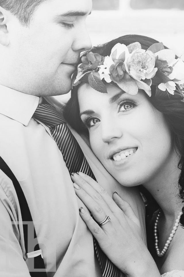 Wedding Photography. Bride and Groom. Wedding portraits. Rustic Wedding. Boho Wedding. Black and white wedding photography