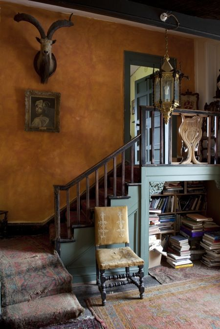 Huntington Castle. From 'The Irish Country House,' Desmond FitzGerald & James Peill, Vendome Press.