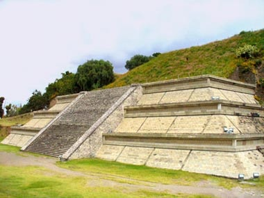 Cholula. Mexico. Largest pyramid in the world