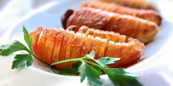 OPPSKRIFT PÅ HASSELBACKPOTETER: Det er så godt at man ikke kan tro det bare er poteter...