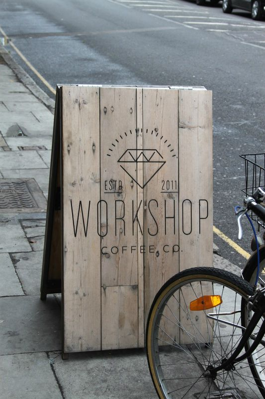 Workshop Coffee #aboard #a-board #sandwichboard