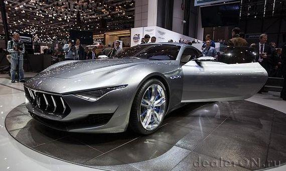 Концепт Мазерати Алфиери / Maserati Alfieri