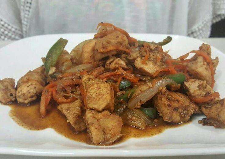 Chopsuey de pollo Receta de Tata Pinedo - Cookpad