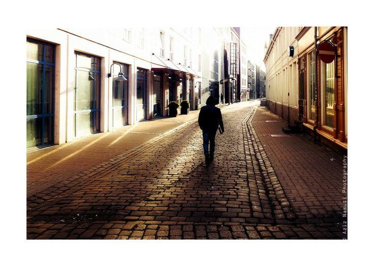 When I paved it alone! by Aziz Nasuti on 500px
