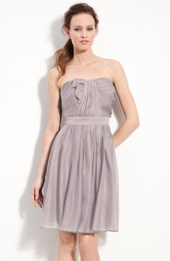 Suzi Chin for Maggy Boutique Strapless Draped Organza Dress | Nordstrom $65.90
