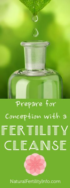 Fertility cleanse vs. a regular cleanse.