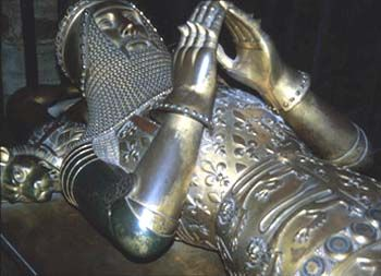 Canterbury Cathedral, the tomb of the Black Prince