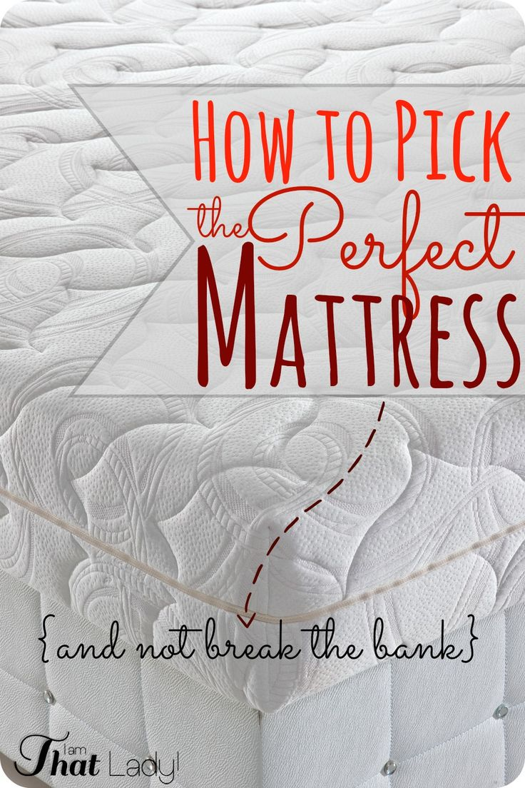 how to pick the perfect mattress u0026 get cheap queen mattresses buying a new mattress can really be expensive they did their research u0026 decided on the - Cheap Queen Mattresses