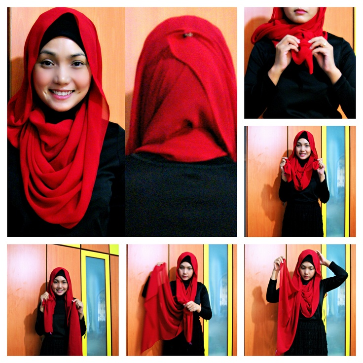 Hijab tutorial | Visit our pintrest.com/hijabtutorial