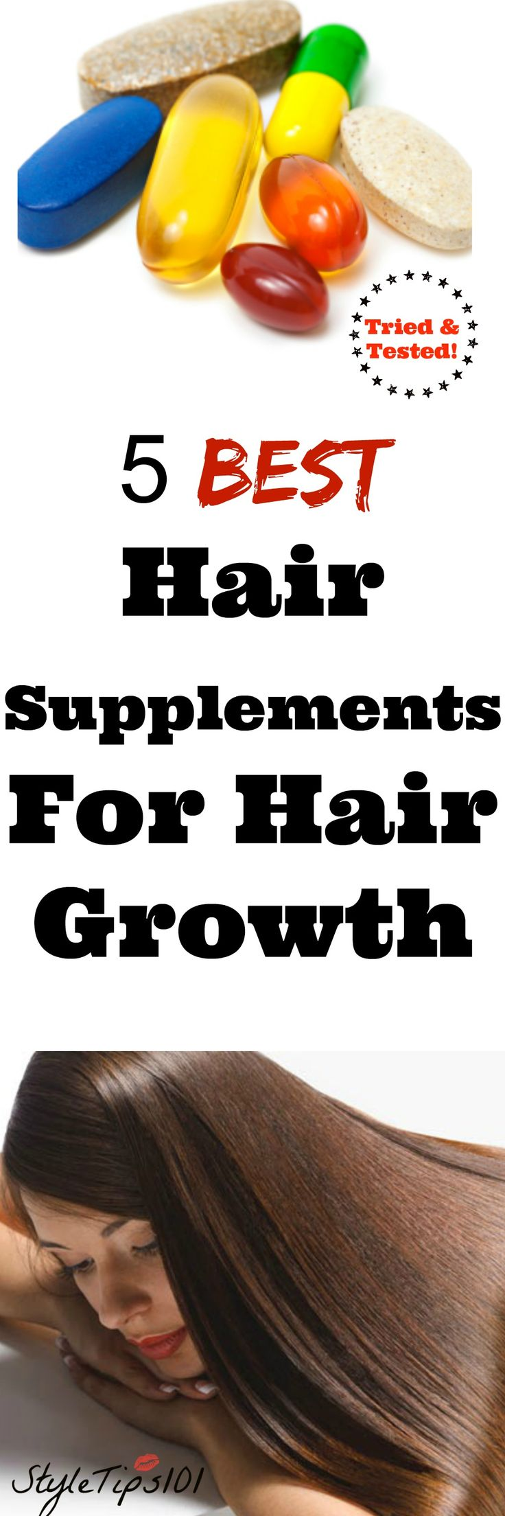 If you have thin, breaking hair that just won't grow past a certain point (like mine!), you may want to give supplements a try! These 5 best hair growth supplements work from the inside out to disperse vitamins and minerals to the hair shaft and regrow hair. These supplements have been tried and tested by… Read More »