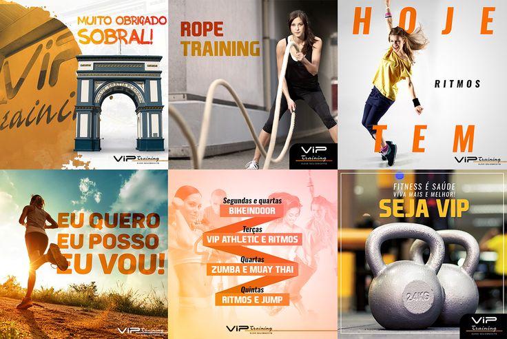 SOCIAL MEDIA - Vip Training on Behance