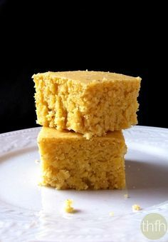 Clean Eating Vegan Cornbread...vegan, dairy-free and no refined sugar   The Healthy Family and Home #vegan #cornbread