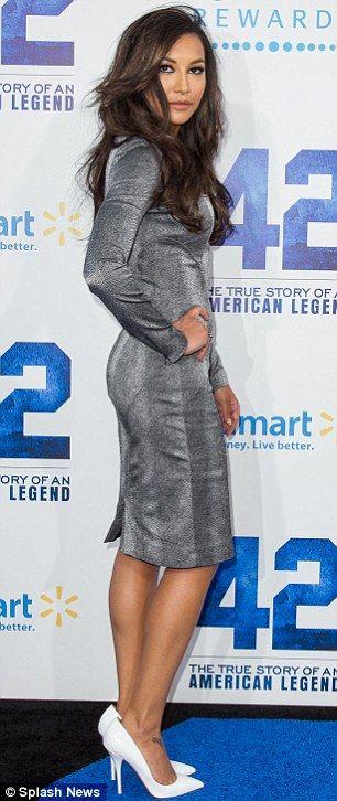 Naya Rivera + heels