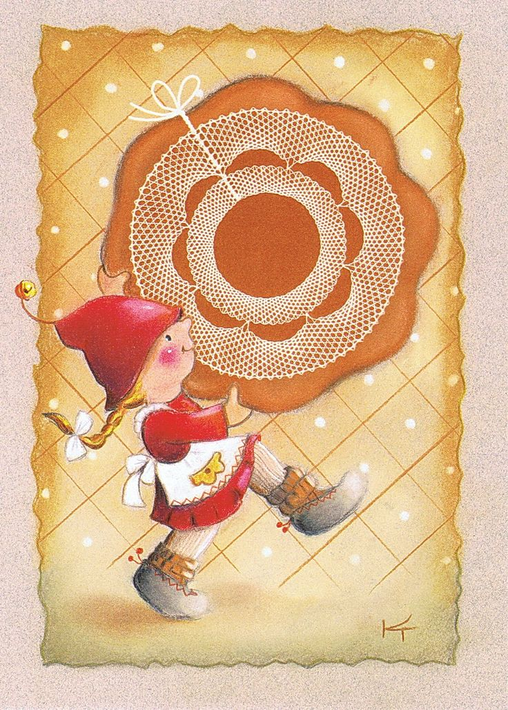 Muuta : Joulukortti Pipari - Kaarina Toivanen