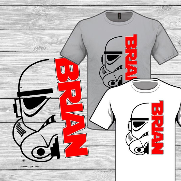 Star Wars Stormtrooper Iron on Personalized T-shirt Disney Transfer Printable - download - Custom shirt - Starwars Vacation matching shirts by DuckyDigital on Etsy https://www.etsy.com/listing/231815749/star-wars-stormtrooper-iron-on