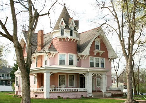 Victorian:  #Victorian house, Ligonier, Indiana, USA.
