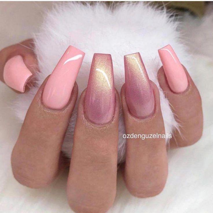 60+ newest coffin nails designs in 2018; short coffin nails; long coffin nails; a …, #acrylicnails #designs #fails #lange #newest #sargnagel – Nails