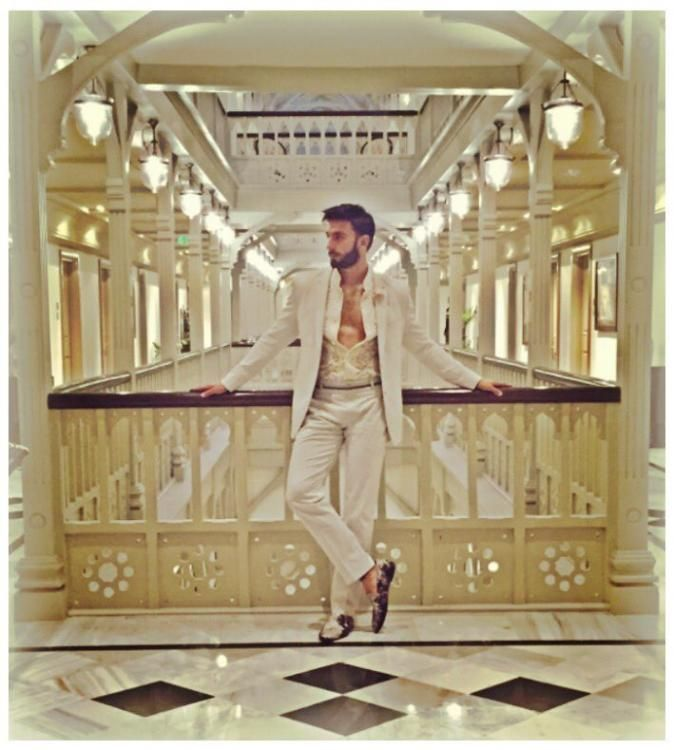 Ranveer Singh Exudes Royal Charm During a Photoshoot for a Popular Magazine…