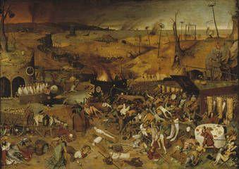 """""""El triunfo de la Muerte"""", Bruegel """"el Viejo"""", Hacia 1562"""