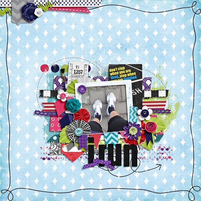 """""""This layout was created for the Sweet Shoppe Summer Shadowbox contest - come join the digital scrapbooking fun at SweetShoppeDesigns.com!"""" credits : tightly twisted by zoliofrope dare to be different by shawna clingerman journal cards by meghan mullens"""