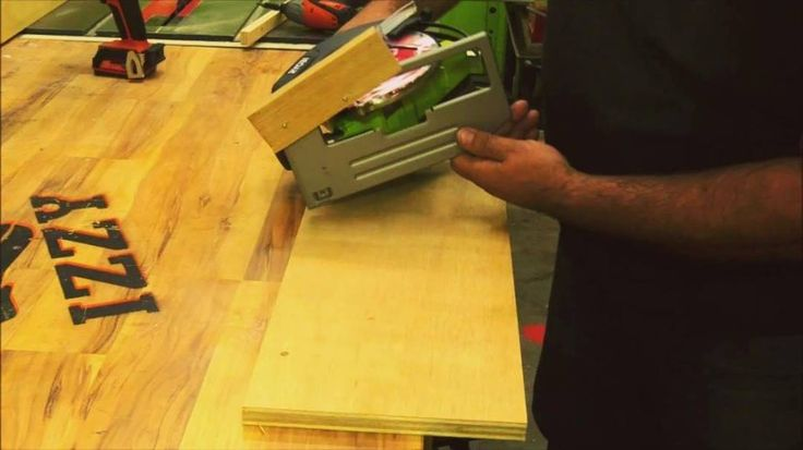 JEDI WOODWORKING - trick #1 using cordless ryobi circ saw like a router to cut in some decrotive coves on a panel. @ryobipowertools its stronger then i thought it would be. I am Impressed so far. #jediwoodworking #izzyswan #ryobination #tooltrick #trick #woodworking #skill #learn #tip #router #saw #newtoolsmell #maker #masteryourmake